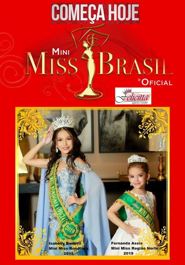 Mini Misses Rondônia e Acre participam do Mini Miss Brasil Oficial