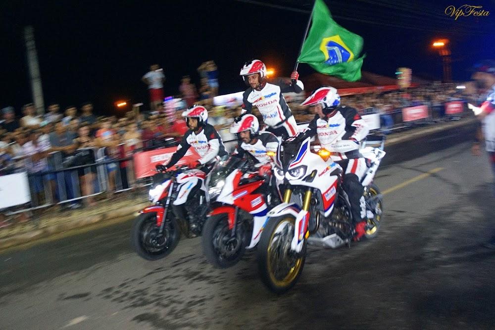 Show da Equipe Força & Ação de Manobras Radicais em Ji-Paraná