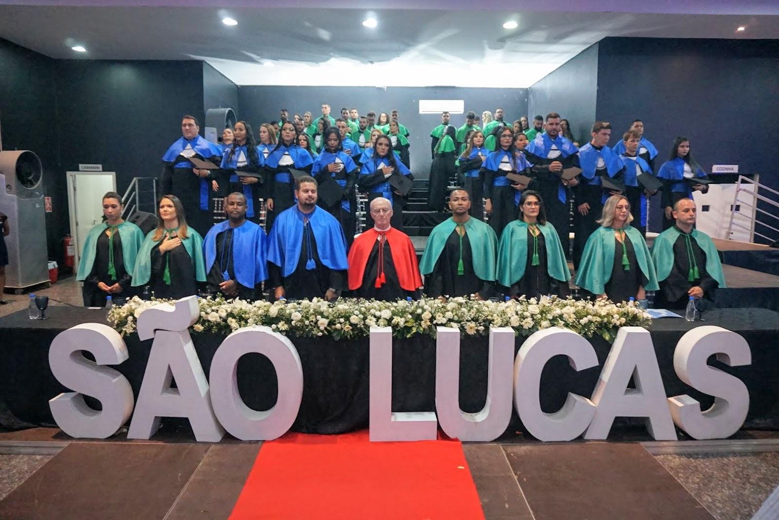 Colação de Grau 2020 da Faculdade São Lucas Ji-Paraná