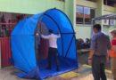Cemetron instala túnel de descontaminação para profissionais de saúde