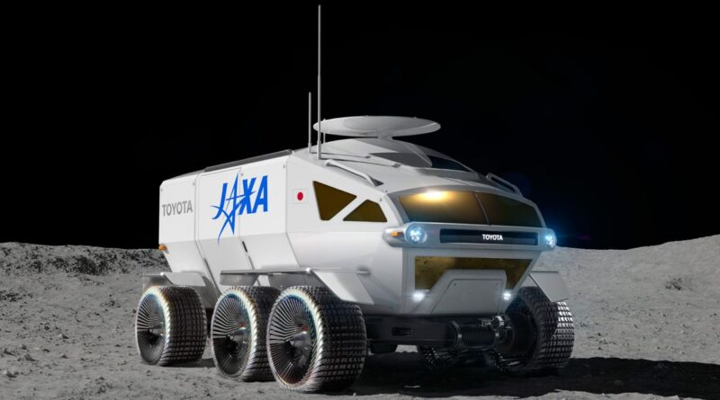 Conheça o 'Lunar Cruiser': o grande veículo lunar japonês para astronautas