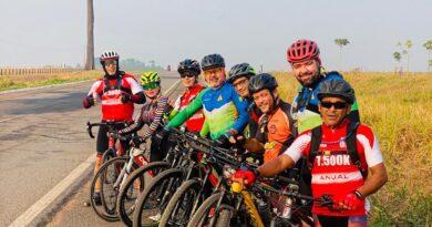 Ciclistas de Ji-Paraná realizam um bate/volta até Alvorada do Oeste