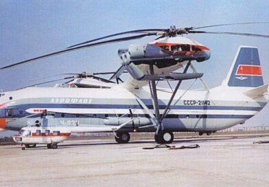 Curiosidades: O maior helicóptero de todos os tempos, que foi totalmente inútil