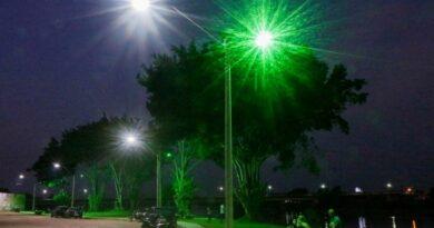 Beira Rio no 1º Distrito recebe iluminação de LED
