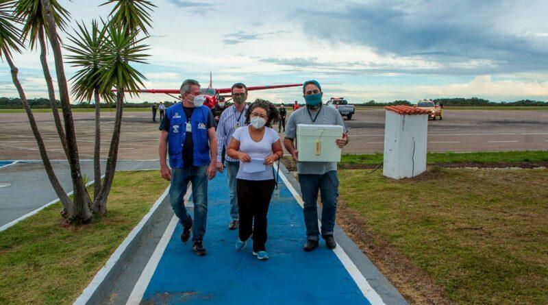 Mais 1.940 doses da vacina contra a Covid-19 para a região Central de Rondônia